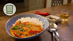 Schnelles Thai Curry mit Huhn