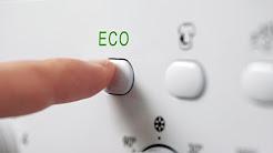 Eco-Modus: Die Waschmaschine ignoriert die Temperaturauswahl – und das ist auch gut so