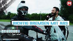 Richtig bremsen mit ABS – Motorrad: Aber sicher!
