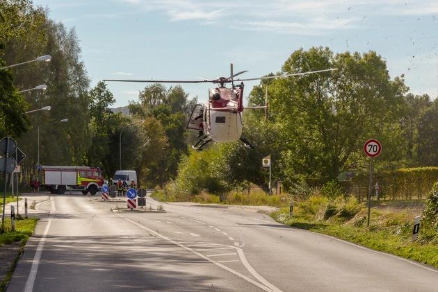 Schwerer Verkehrsunfall Detmold - 27.09.18 bis 30.07.19