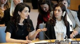 """Amal Clooney vor der UN: """"Dies ist Ihr Nürnberg-Moment"""""""