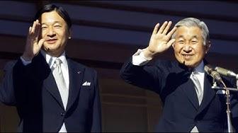 Historischer Thronwechsel in Japan