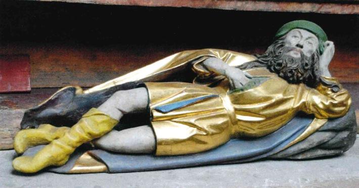 Heiligenfigur aus Kirche gestohlen