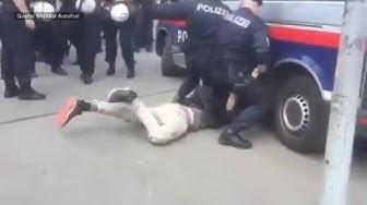 """POLIZEIBRUTALITÄT: Wiener Polizei räumt """"gefährliche Situation"""" ein"""