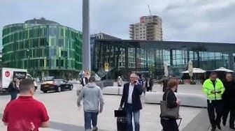 Von Polizei niedergeschossen – Mann wollte Malmöer Bahnhof sprengen
