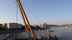 Budapest: Einsatzkräfte bergen gesunkenes Ausflugsboot