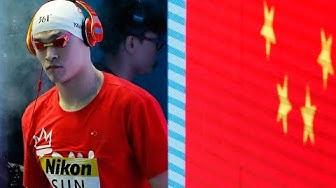 SCHWIMM-WM 2019: Erneuter Eklat bei der Siegerehrung von Sun Yang