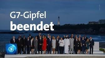 G7-Gipfel in Biarritz beendet