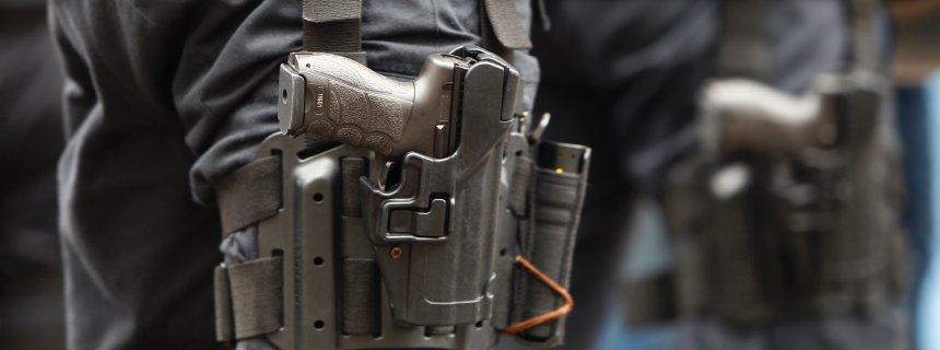 Zehn Dienstpistolen der Bundespolizei gestohlen