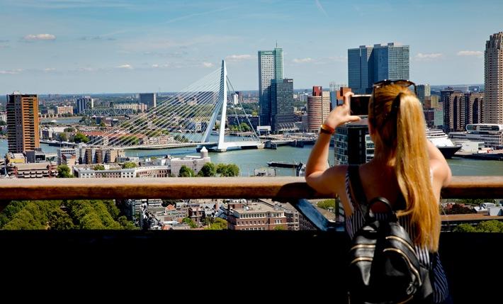 Rotterdam als Gastgeberstadt des Eurovision Song Contest 2020