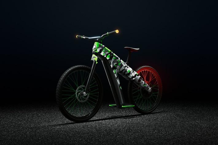SKODA zeigt innovatives Zweiradkonzept KLEMENT auf der EUROBIKE 2019 in Friedrichshafen