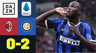 Inter bleibt nach Derby-Sieg Erster: AC Mailand – Inter Mailand 0:2
