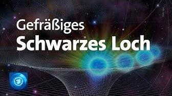 Forschende rätseln: Helligkeitsausbruch an schwarzem Loch