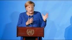 """Merkel bei UN-Klimagipfel: """"Wir müssen der Wissenschaft folgen"""""""