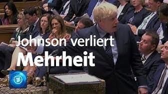 Während Brexit-Debatte: Johnson verliert Mehrheit im Unterhaus