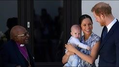 Baby Archie verhält sich in Südafrika vorbildlich