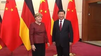 HEIKLE MISSION: Kanzlerin Merkels China-Reise wird zum Politikum
