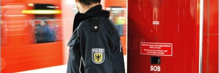 Mit Messer in S-Bahn bedroht