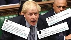 Brexit-Entscheidung vertagt – Twitter grillt Boris Johnson