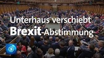 Brexit-Verschiebung nach Unterhaus-Abstimmung wird wahrscheinlicher – EU-Staaten müssen zustimmen
