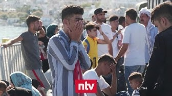 Griechenland bringt Flüchtlinge aufs Festland
