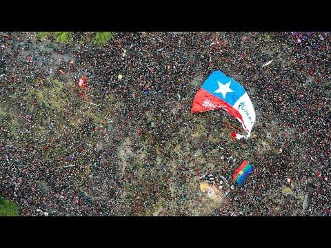 Mehr als eine Million Menschen protestieren in Chile