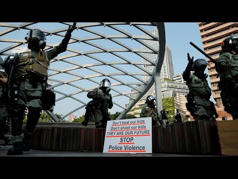 Tränengas im Touriviertel – weiter Ausschreitungen in Hongkong