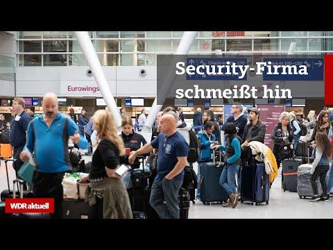 Sicherheitsfirma Kötter gibt Flughäfen in Düsseldorf und Köln-Bonn auf