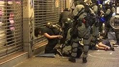 HONGKONG BLEIBT STUR: Hass auf Polizei – Vermummungsverbot ignoriert