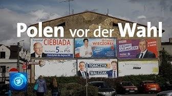 PiS hat in Polen sehr gute Chancen, die Wahl erneut zu gewinnen