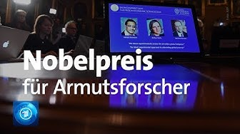 Wirtschaftsnobelpreis 2019 vergeben