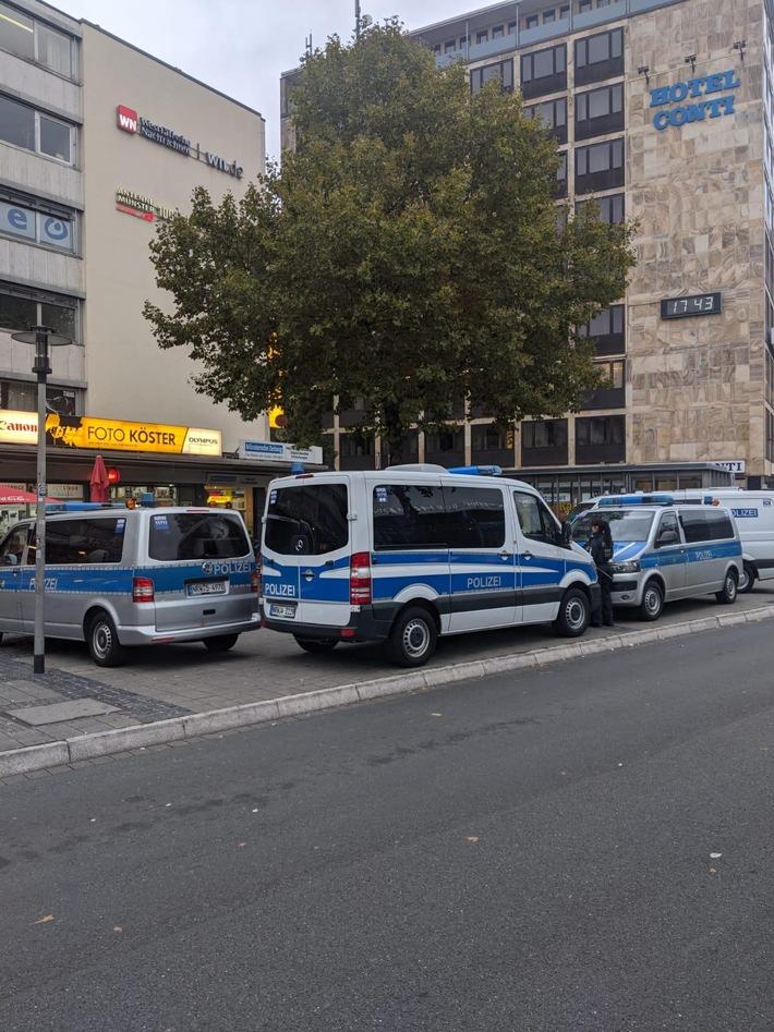 Polizei erhöht Druck auf Dealer und Diebe – Erneute Razzia im Bahnhofsumfeld