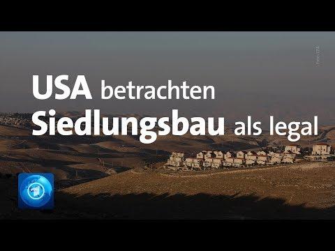 USA vollziehen weitere Wende in Nahost-Politik