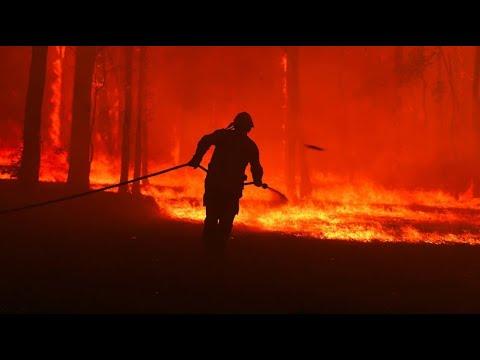 Waldbrände in Australien weiten sich aus