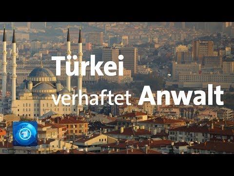 Deutsche Botschaft: Türkei verhaftet Anwalt