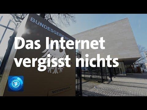 """Bundesverfassungsgericht: """"Recht auf Vergessen"""" – mit Einschränkungen"""
