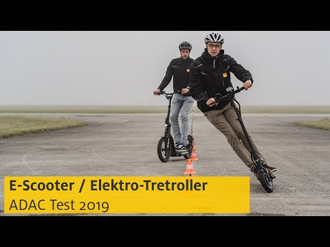 E-Scooter-Test 2019