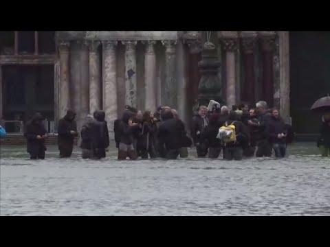 ANGST VOR NEUEM REGEN: Venedig fürchtet mehr Hochwasser