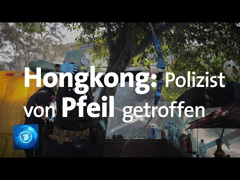 Proteste in Hongkong: Brandbomben und Bogenschützen