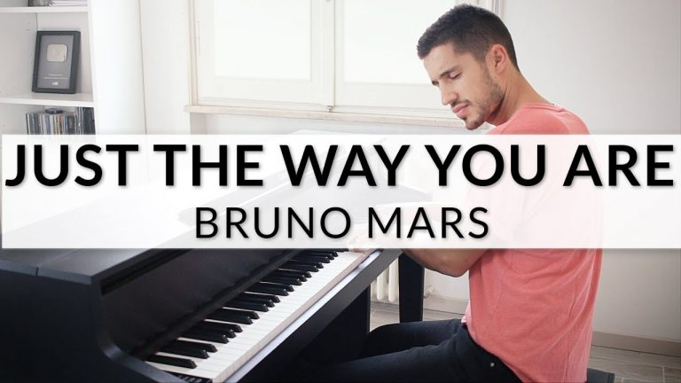 """Bruno Mars: """"Just The Way You Are"""" als Piano Version"""