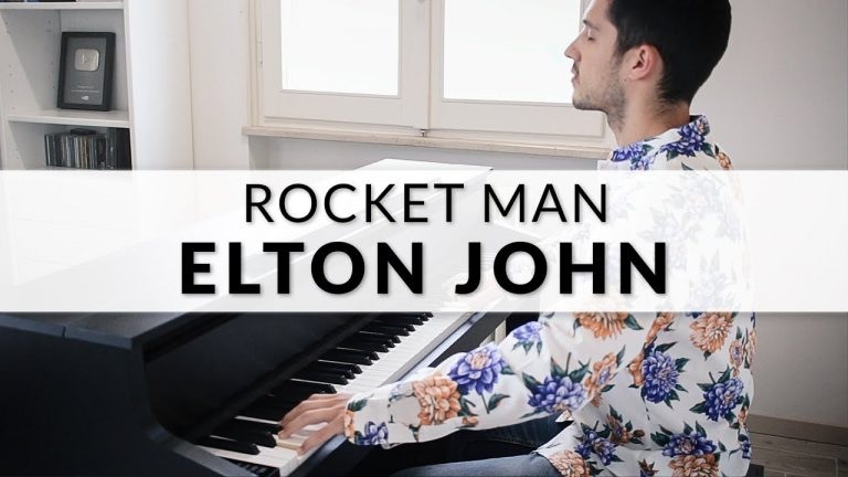 "Elton John: ""Rocket Man"" als Piano Version"