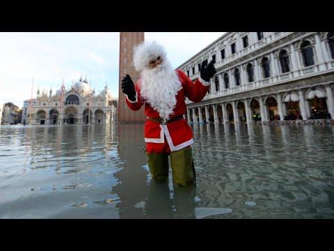 Nasse Weihnachten in Venedig