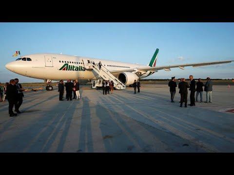 Italien unterstützt Fluglinie Alitalia