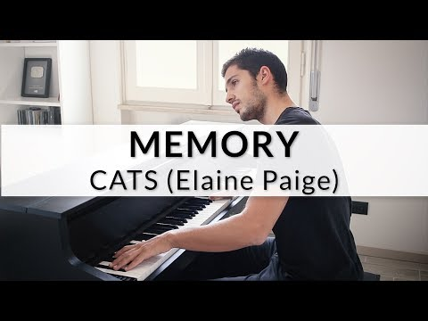 """Cats: """"Memory"""" als Piaon version"""