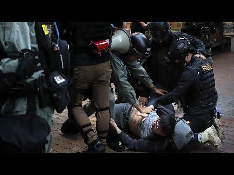 Hongkong: Nach Demonstrationen erneute Zusammenstöße