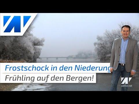 Kälte in den Niederungen –  Frühlingserwachen auf den Bergen!