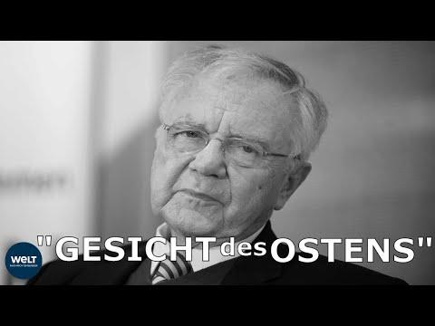 MANFRED STOLPE TOT: Brandenburg trauert um Ex-Ministerpräsident