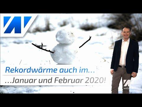 Mit Rekordwärme ins neue Jahr: Der aktuelle Wettertrend bis März 2020