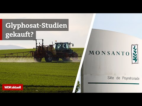 Glyphosat: Monsanto finanziert verdeckt Studien in Deutschland