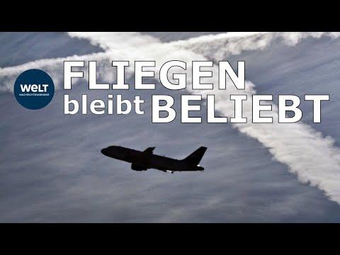 TROTZ KLIMADEBATTE: Noch nie wurde so viel geflogen